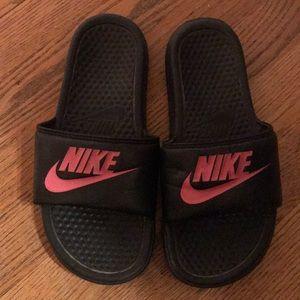 Nike slides size 7.